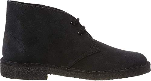 Clarks Originals Damen Boot-261388204 Desert Boots, Blau (Navy Suede), 42 EU