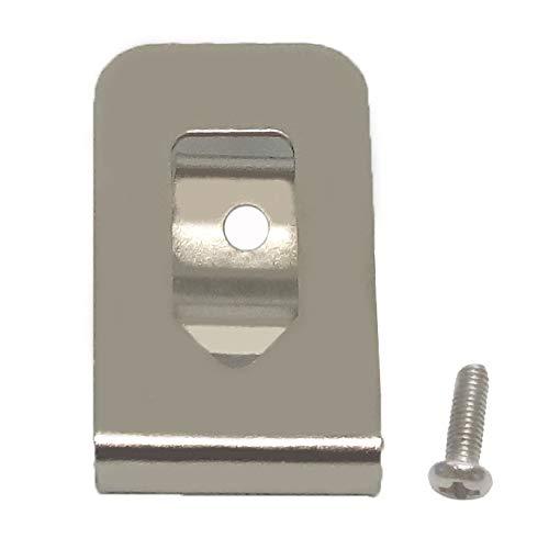 SKCMOX Replacement Belt Clip Hook for Dewalt N268241 Fit for 20V Max Tools DCD980 DCD985 DCD980L2 DCD985L2 (10 Pack)
