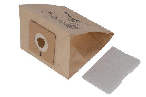 Moulinex MT000501 Staubsaugerbeutel für Accessimo/Compacteo, 6 Beutel, 1 Mikrofilter