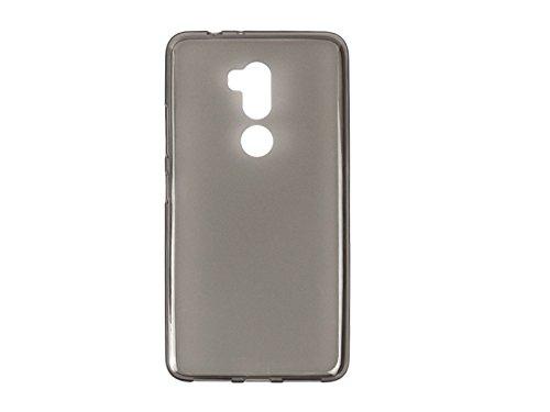 etuo Handyhülle für Alcatel A7 XL - Hülle FLEXmat Hülle - Schwarz - Handyhülle Schutzhülle Etui Hülle Cover Tasche für Handy