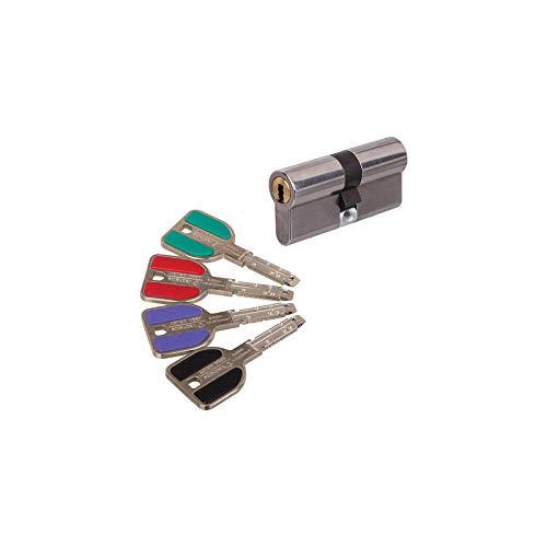 PROMOTION - Cylindre de serrure VACHETTE RADIALIS à 2 entrées de clés avec 4 clés
