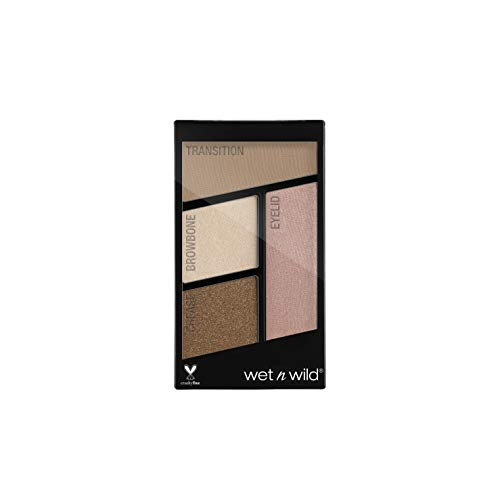 Color Icon Eyeshadow Quads, palet 4 oogschaduw, 100% cruelty free, veganistisch product Walking On Eggshells