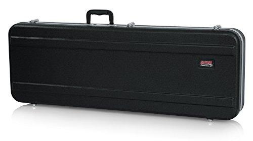 GATOR GC-ELEC-XL - Estuche para guitarra eléctrica de ABS (interior moldeado), color negro, Guitarra XL