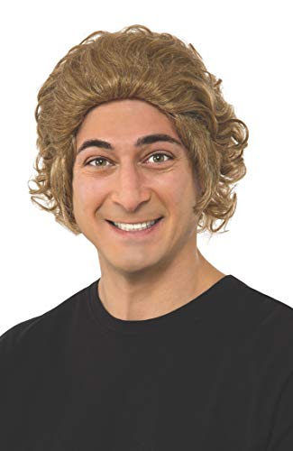 Rubie's Costume Men's Chocolate Factory Willy Wonka Wig, As Shown, One Size