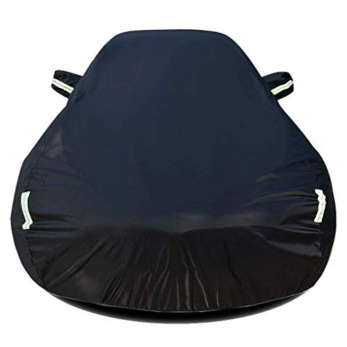 WANHUHOU Compatible con Lincoln MKT Cubiertas de automóviles Cubierta de Protector Solar para Uso al Aire Libre All-Climés Impermeable Antiuv Coche Limpieza Película Plan de Coche Cubierta de Polvo