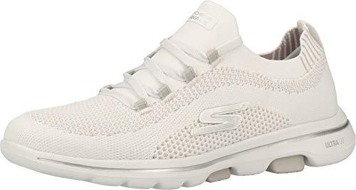 Skechers Zapatillas para mujer Go Walk 5-Uprise, color Blanco, talla 39 EU