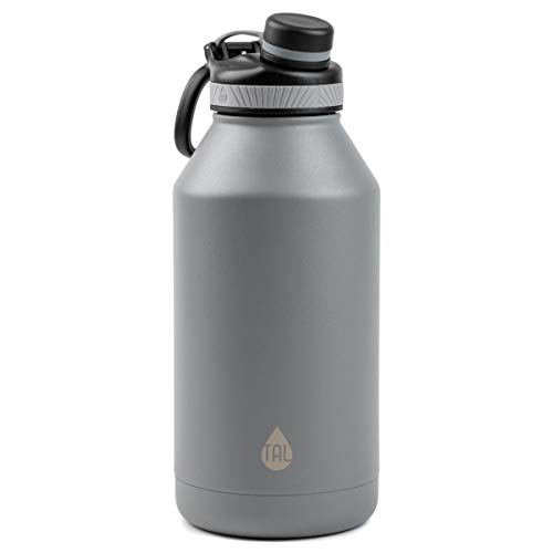 Tal Water Bottle Double Wall Insulated Stainless Steel Ranger Pro - 64oz - Silver