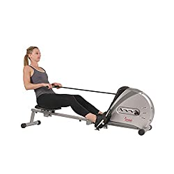 Sunny Health & Fitness SF-RW5606 Elastic Cord Resistance Rower