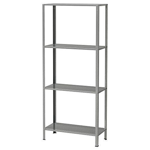 Ikea HYLLIS - Estantería galvanizada - 60x27x140 cm