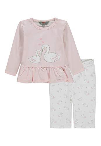 Kanz Baby-Mädchen Set 2tlg. (Tunika 1/1 Arm + Leggings) Bekleidungsset, Pink (Ballerina|Rose 2096), 56