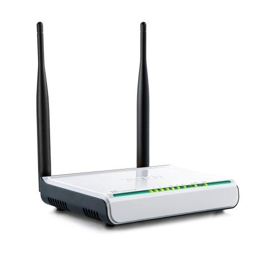 Tenda W308R Router inalámbrico Gigabit Ethernet Negro, Blanco - Routers inalámbricos (Wi-Fi 4 (802.11n), 300 Mbit/s, 802.11b,802.11g,Wi-Fi 4 (802.11n), DSSS,OFDM, 11 Canales, Gigabit Ethernet)