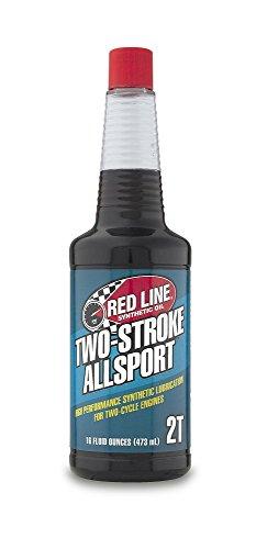 Red Line 40803 2-Stroke Allsport Oil, 16 Ounce, 1 Pack