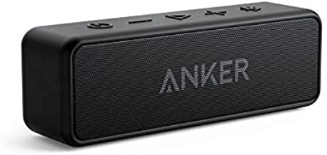 [Upgraded] Anker Soundcore 2 Portable Bluetooth Speaker with 12W Stereo Sound, Bluetooth..