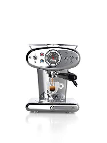 illy Metodo 60247 X1 Anniversary Espresso & Coffee INOX Kapselmaschine, Rostfreier Stahl, Edelstahl (Generalüberholt)