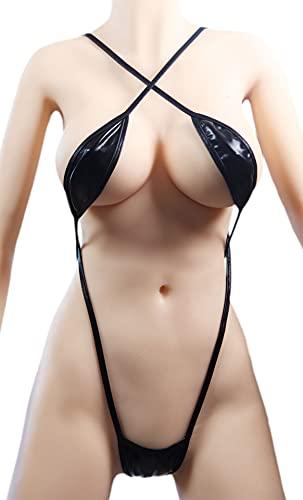 Microkini Schwarzer Trikini