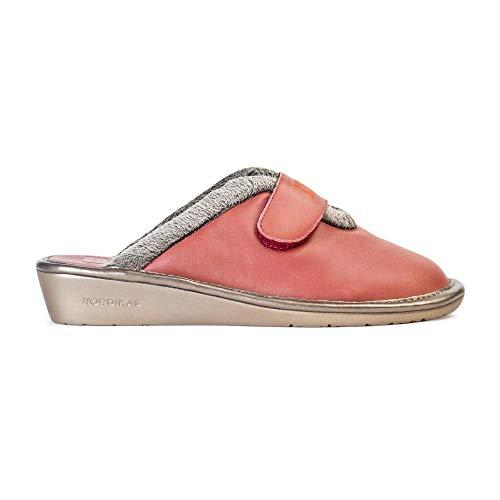 Zapatillas Nordikas para Mujer, Top Line 6347 Piel Safari Maquillaje