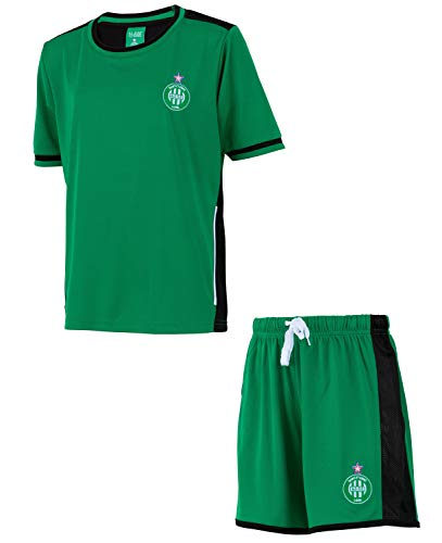 AS Saint Etienne ASSE Short Jersey Set - Official Collection Child Size 8 Years