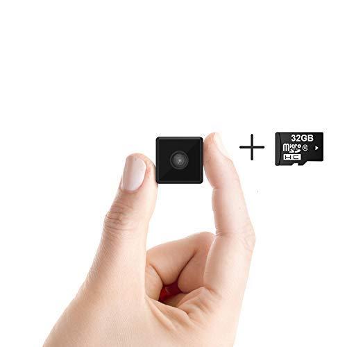 Ehomful Mini Spy Camera 1080P Hidden Camera Portable Small HD Nanny Cam