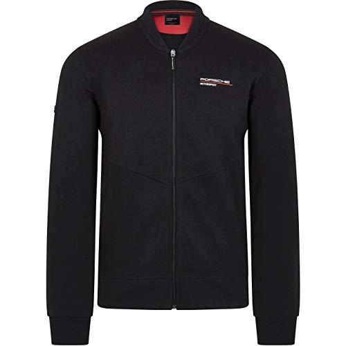 Porsche Motorsport Men's Black Zip Sweatshirt (S) Louisiana
