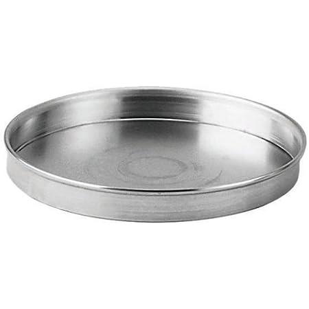 Johnson-Rose 6 Inch X 1 Inch Aluminium Deep Dish Pizza/Cake Pan, 6 inch, Silver