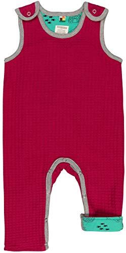 loud + proud Baby-Unisex Wendestrampler Strick Aus Bio Baumwolle, GOTS Zertifiziert Strampler, Rosa (Berry Ber), 80 (Herstellergröße: 74/80)