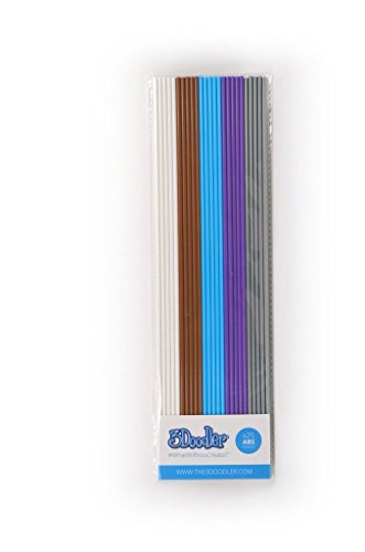 'Meta' Mix pack of 25 strands of ABS plastic for 3Doodler and 3Doodler 2.0 3D printing pen.