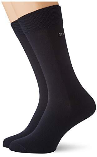 Marc O'Polo Body und Beach Herren Multipack M 2-Pack Socken, Blau, OneSize_2