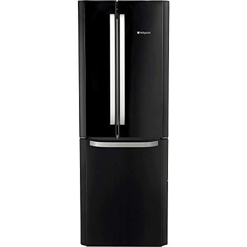 Hotpoint 446 Litre 55/45 Freestanding Fridge Freezer - Black