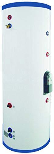 200 Liter 53 Gallon Stainless Steel Solar Hot Water Heater Tank Single Copper Coil Heat Exchanger