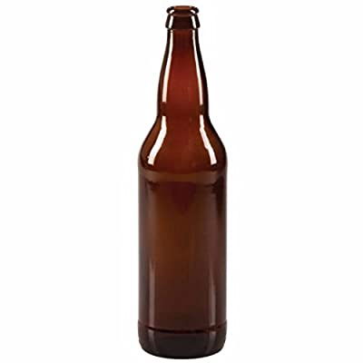 Midwest Homebrewing and Winemaking Supplies 22 oz. Beer Bottles- AMBER- Case of 12