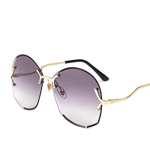 Sonnenbrille Herren Trendy Randlose Sonnenbrille Runde Okulos Retro Vintage Sonnenbrille Damen Mode Sonnenbrille Uv400 1