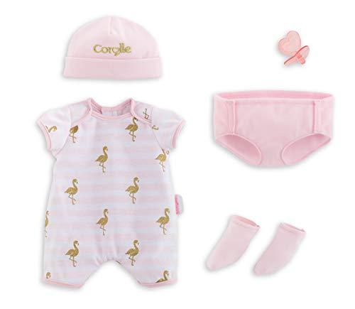 Corolle- Mon Grand Poupon Babykleidungsset für Alle 36cm Babypuppen Conjunto de Ropa para bebé (36 cm), Color 1. (140550)
