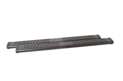 """Dee Zee DZ16111 6"""" Oval Texture Black Steel Side Steps"""
