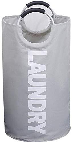 Draagbare speelgoedtas, opvouwbaar, sporttas, grote tas voor het winkelen van Oxford-stof 40 * 35 * 60cm Grijs