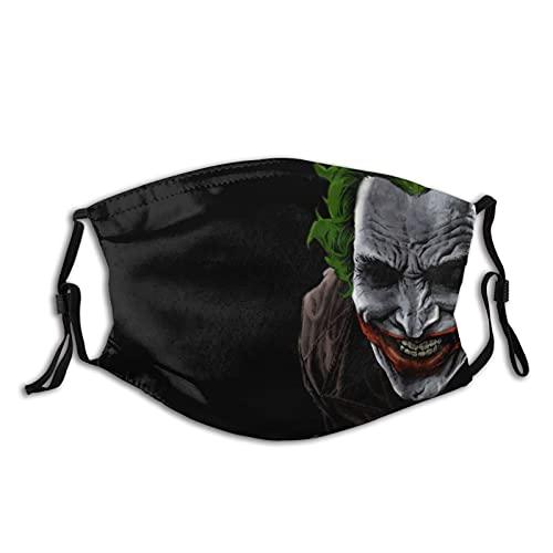 Bat-Man - Bandana para la cara de la boca, para adultos, para el cuello, máscara, máscara para la cara, al polvo, resistente al viento y transpirable