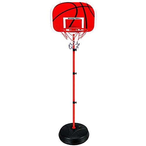DDHVVOH Canasta Baloncesto NiñOs,Plegable Y Ajustable Canastas de Baloncesto con Tablero Y Base,Mini Juguete de Baloncesto,Regalos de CumpleañOs para NiñOs,2m
