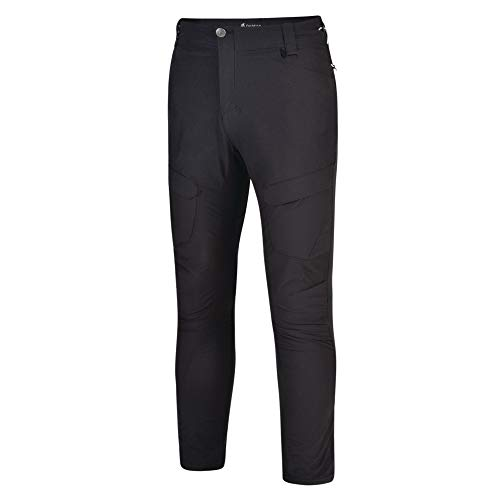 Dare 2B Tuned in II' - Pantaloni Impermeabili da Uomo, con Tasche Multiple, Uomo, Pantaloni Bambino, DMJ409R, Nero, 30W