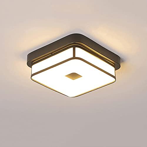 LXIANG Lámpara de techo moderna para pasillo pequeño, lámpara de techo LED, pasillo de entrada, balcón, porche, lámpara de techo, salón, baño, cocina, guardarropa, restaurante, restaurante, lugar públ