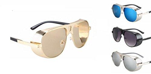 I.G.N.Y. Design - Gafas de sol Steampunk Adulto, unisex
