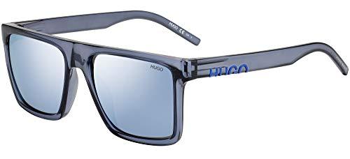 Hugo Boss Sonnenbrillen (HG-1069-S PJP3J) blau kristall - grau-braun - silber verspiegelt