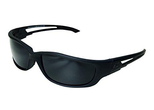 Edgeware Adultes Edge Tactical Safety Eyewear, Blade Runner XL, Noir Mat, revêtement Anti-Rayures, Anti-buée, Cadre en Nylon TR90 Lunettes de Protection, Multicolore, Taille Unique