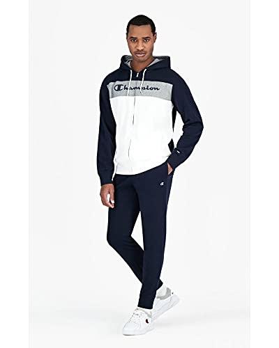 Champion Hooded Full Zip Suit Art.112593 (XL, bs501 Blu)