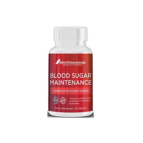 Blood Sugar Support,Blood Sugar Control & Blood Sugar Maintenance Supplement–with Chromium Picolinate.Helps Support Healthy Blood Sugar & Glucose Levels.