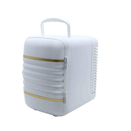 Bdesign Coche compresor del refrigerador del Coche de congelación Inicio de Doble propósito y Refrigeración 12V24V Camión Mini Seno de Leche pequeño Refrigeración Congelador (Color : White)