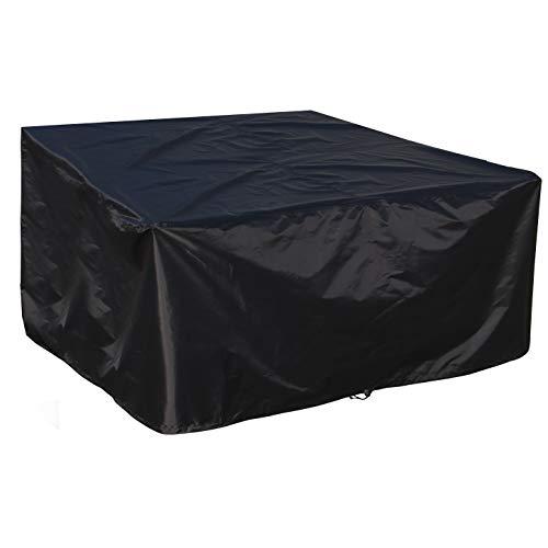 B.PRIME Housse de Protection pour Table et Meubles de Jardin – Imperméable, Respirante et résistante aux UV – Bâche de Protection de qualité supérieure en Tissu Oxford 210D 200x160x70cm