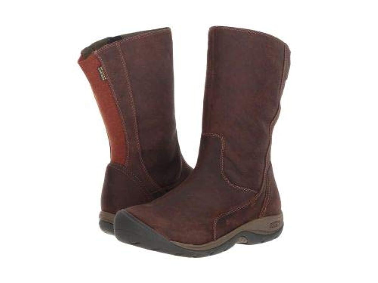 本特性患者[キーン] レディース 女性用 シューズ 靴 ブーツ レインブーツ Presidio II Waterproof Boot - Tortoise Shell/Cornstalk [並行輸入品]