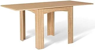 IDMarket - Table à Manger Extensible Dona 6-8 Personnes hêtre 80-160cm