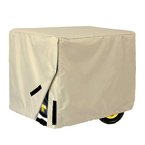 AING-COVER Schutzhülle Möbel Staubschutz für Draussen Diesel Generator Wasserdichte Abdeckung Staubdicht (Farbe : Beige, größe : 96 * 76 * 71cm)