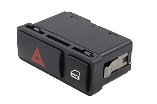 NewYall Hazard Warning Flasher Light Switch w/Door Central Lock Locking Button