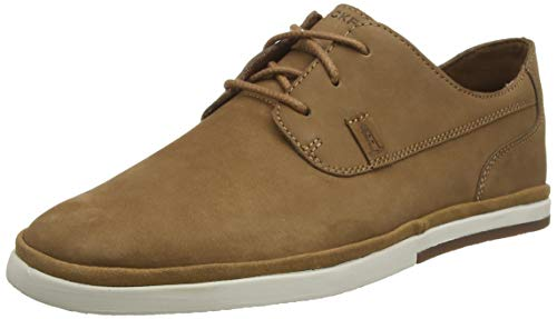 Rockport Austyn Plain Toe Summer Shoe, Alpargatas Hombre, Caramelo marrón 002, 46 EU